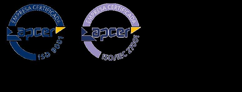 Certificação ISO 9001:2015 e ISO 27001:2013